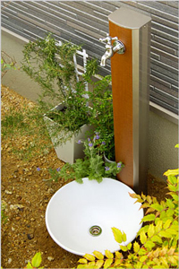 立水栓はNIKKOやユニソンなどが主なメーカーです。
