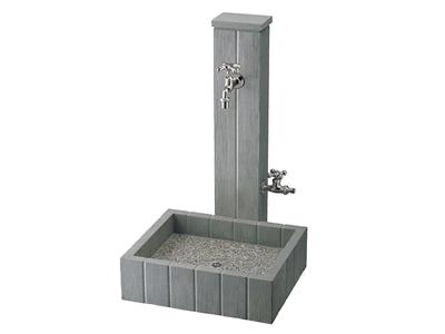 コンクリートデザインの立水栓です。
